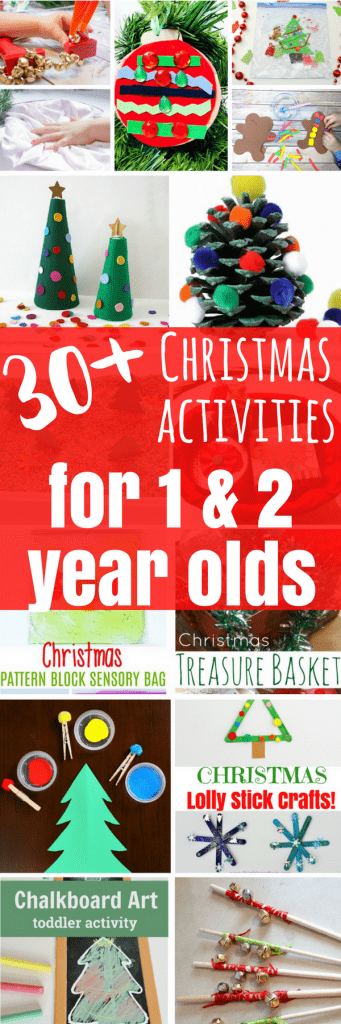 These Christmas activities for 1 and 2 year olds will get you through the Winter!