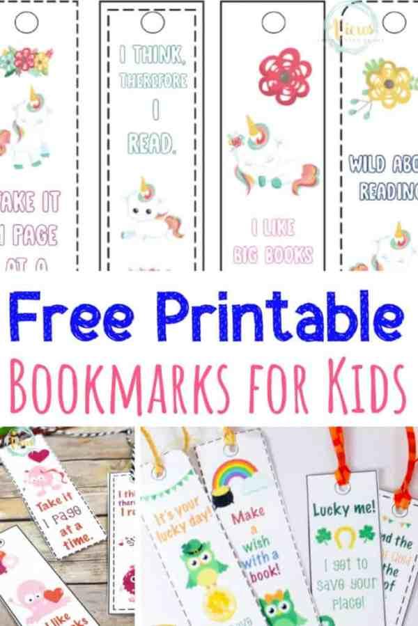 printable unicorn bookmarks # 77