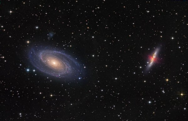 ViewSpace Galaxies M81 and M82