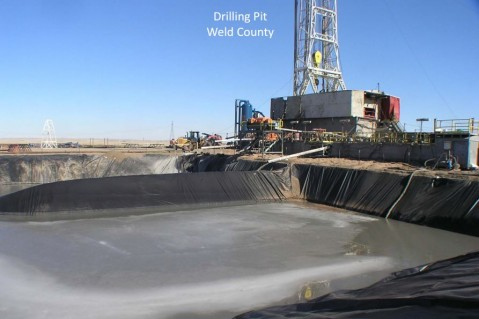 Colorado oil pit
