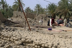 Entire villages in and near Awaran district have been reduced to piles of debris after a 7.7-magnitude earthquake struck Pakistan's Balochistan Province on 24 September 2013.  (Photo by Islamic Relief, via IRIN)