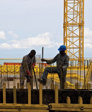 Many African governments are investing heavily in infrastructure. (Photo World Bank/Arne Hoel)