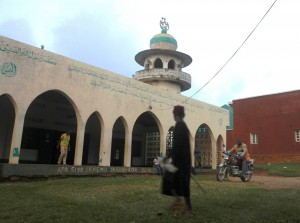 A mosque in Beni, eastern DRC. (Photo by Jessica Hatcher/IRIN)