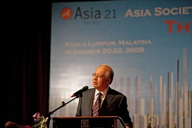 Malaysian Prime Minister Najib Razak. (Photo by Gen Kanai)