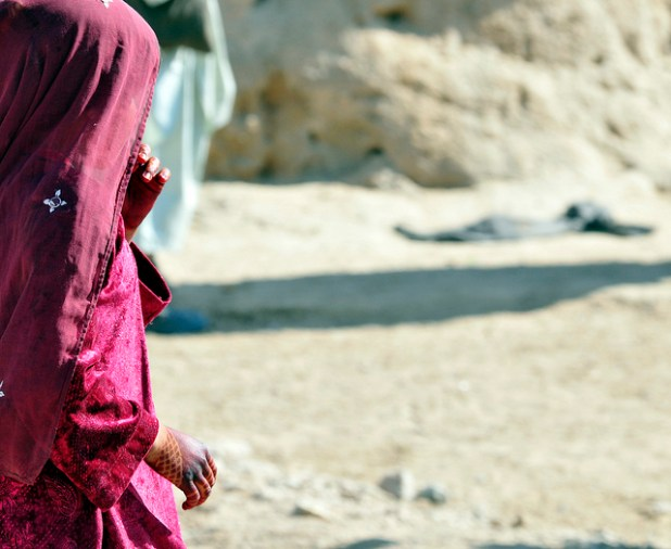 War has traumatized Afghan children for over three decades but they were never used as human bombs. (Photo by 101st CAB, Wings of Destiny, Creative Commons License)