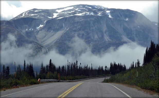 Klondike Highway, Alaska. (Photo blmiers2, Creative Commons License)