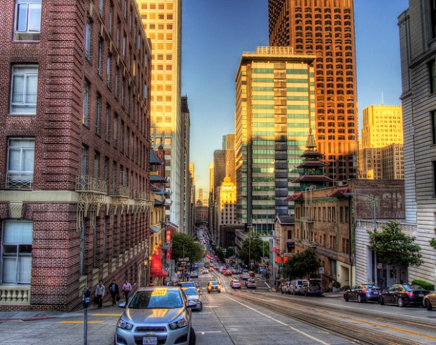 A street in San Francisco. (Photo by neilalderney12, Creative Commons License)