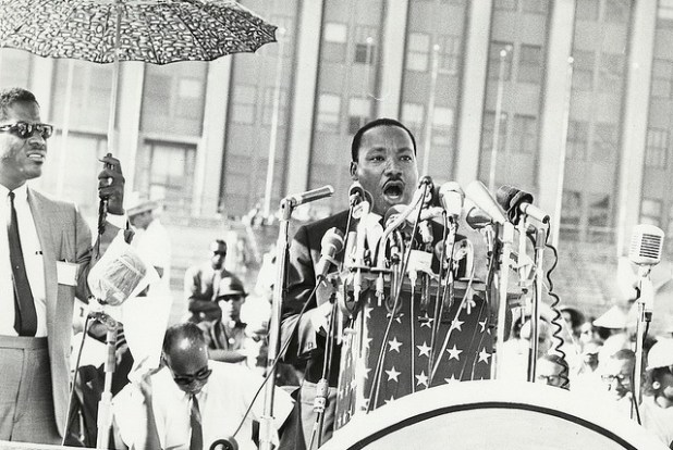 Martin Lurther King (Photo by UIC Digital Collections, Creative Commons License)