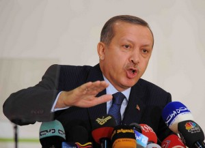Turkish Prime Minister Recep Tayyip Erdogan has been accused of showing little respect to political dissent. (photo by by Kuwait-Ra'ed Qutena, Creative Commons License)