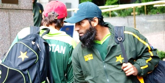 Mohammad Yousuf earned his place in Pakistani cricket team because of his brilliant batting.