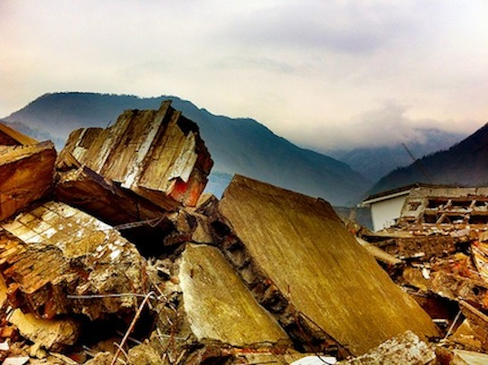 For more than a decade, scientists have warned that the Himalayas are primed for a great earthquake. (Photo by opalpeterliu, via thethirdpole.net)