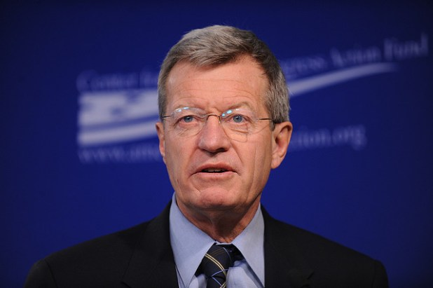 Senator Max Baucus. (Photo by Center for American Progress Action Fund)