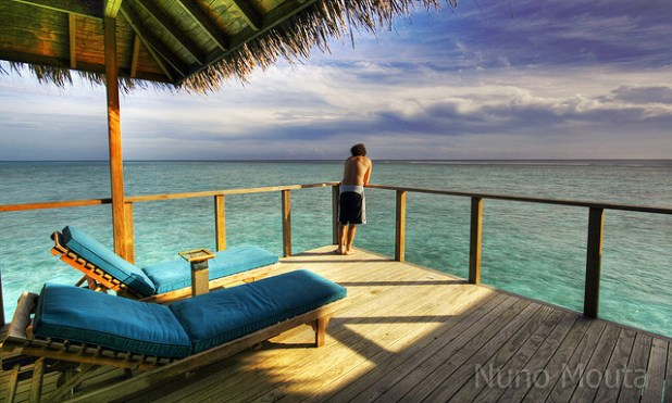 Tourism is the mainstay of Maldives economy. (Photo by Nuno Mouta, Creative Commons License)