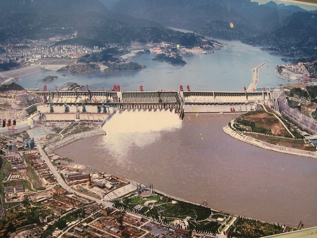 The Three Gorges Dam is the largest hydroelectric power station in the world, completed on October 30, 2008, The total electric generating capacity of the dam will reach 22,500 MW. (Photo by PVCG)