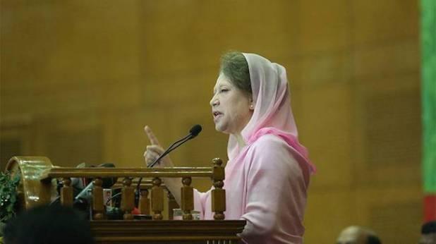 Bangladesh's opposition leader and former prime minister Begum Khaleda Zia. (Photo by Syed_Zakir_Hossain, Creative Commons License)