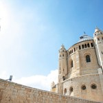 Dormition Abbey on Mt-Zion in Old City, Jerusalem. (Photo by Benjamin, Creative Commons License)