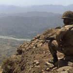 A Pakistani soldier