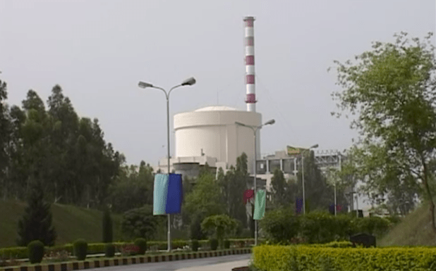 Pakistan's nuclear power plant at Chashma in central Punjab province.