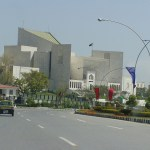 The Supreme Court of Pakistan's building in Islamabad. The apex court has remained in the news for the few years. (Photo by Aamer Ahmed, Creative Commons License)