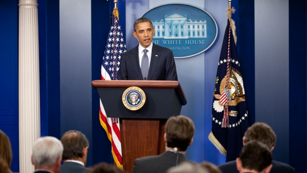 President Obama made the historic announcement. (Photo by US embassy, Creative Commons License)