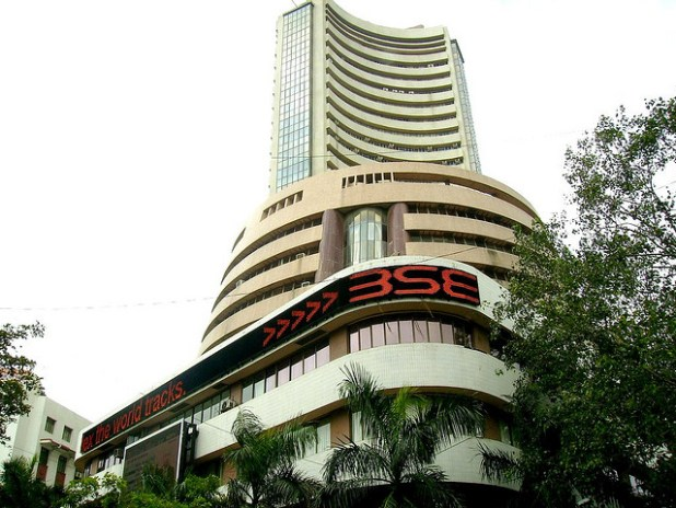 The Bombay Stock Exchange in India's commercial hub Mumbai. (Photo by Niyantha Shekar, Creative Commons License)