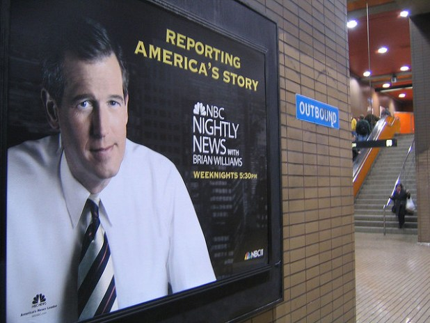 Brian Williams. (Photo by Steve Rhodes, Creative Commons License)