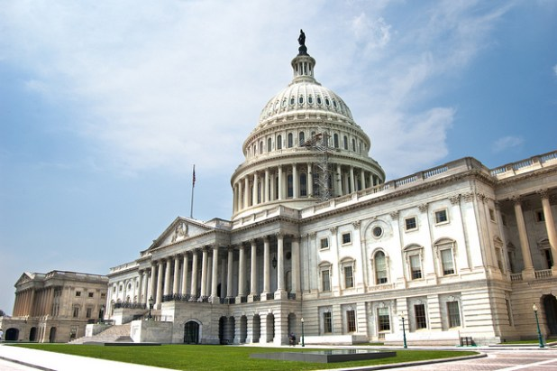 U.S. Capitol building in Washington DC. (Photo by freshwater2006, Creative Commons License)