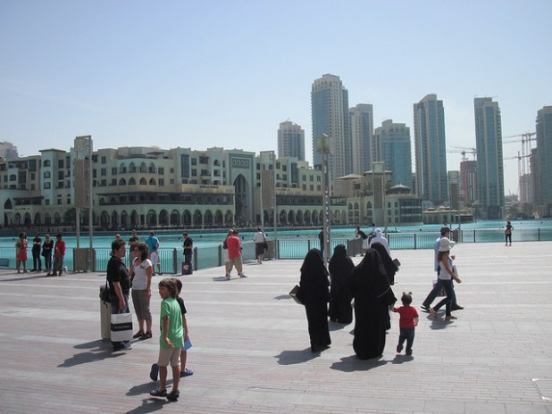 Dubai skyline. (Photo by felibrilu, Creative Commons License)