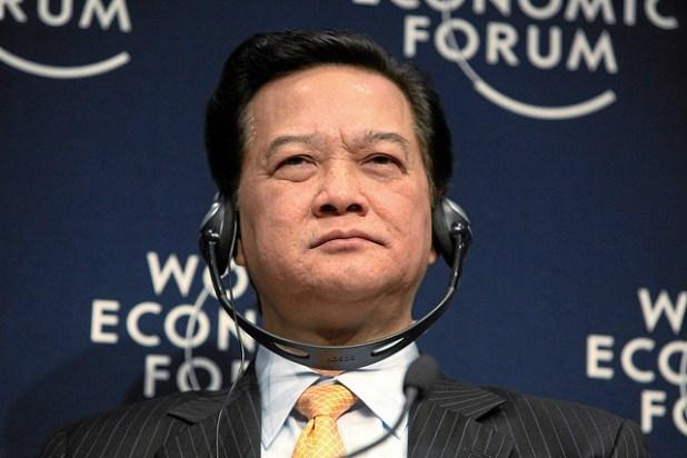 Vietnam's political climate still favors Prime Minister Nguyen Tan Dung. (Photo by Photo by Monika Flueckiger via World Economic Forum, CC license)