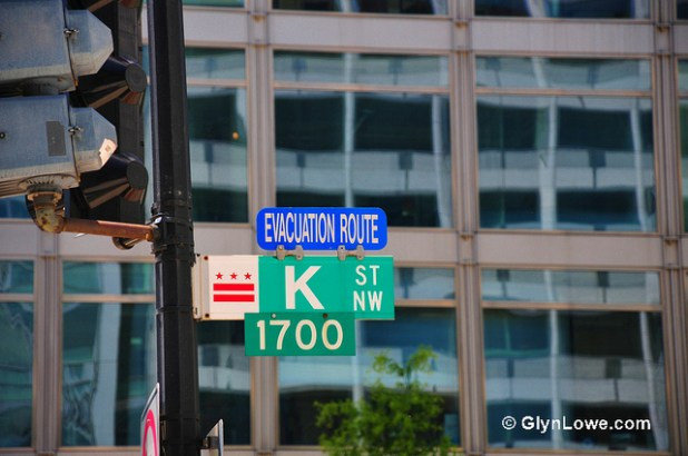Washington DC 's K Street is known for think tanks and lobbyists. (Photo by  www.GlynLowe.com, Creative Commons License)