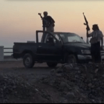 Houthi rebels are believed to be backed by Iran. (Photo via video feed)