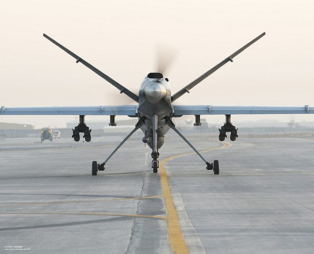 Royal Air Force has also used drones in Afghanistan in the past. (Photo by Sergeant Ross Tilly/RAF, Creative Commons License)