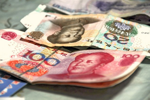 Chinese yuan. (Photo by faungg's photos, Creative Commons License)