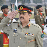 Pakistan's army chief General Raheel Sharif remains very popular compared to many politicians. (Photo via ISPR)