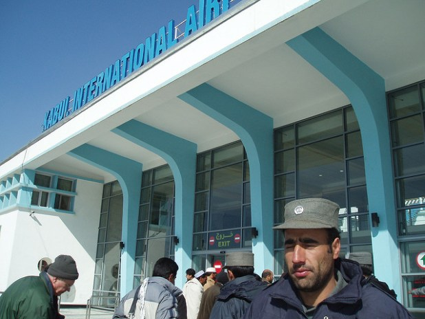 A view of Kabul International AIrport. (Photo by k t, Creative Commons License)
