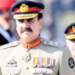 General Raheel Sharif, Pakistan's outgoing army chief.