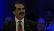 General Raheel Sharif at Davos