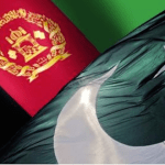 Pak Afghan flags