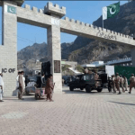 Pakistan-Afghanistan border gate at Torkham.