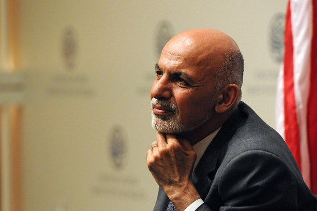 President Ashraf Ghani has been frequently blaming Pakistan for his shrinking power. (Photo via US Institute of Peace)