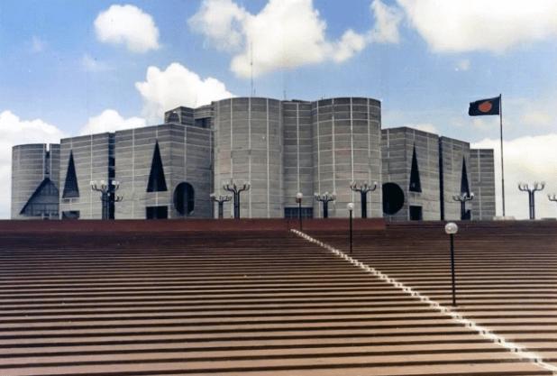 Bangladesh's parliament in Dhaka. (Photo via Bangladeshi parliament)