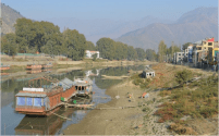 Water Levels in Jhelum Lowest Ever Recorded