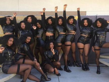 Beyonces dancers pay homage to BPP