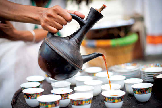 Ethiopian coffee, Image: auxmrestaurant.com