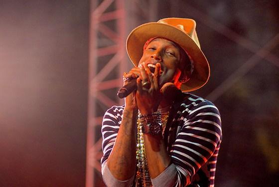 Pharrell williams free concert toronto