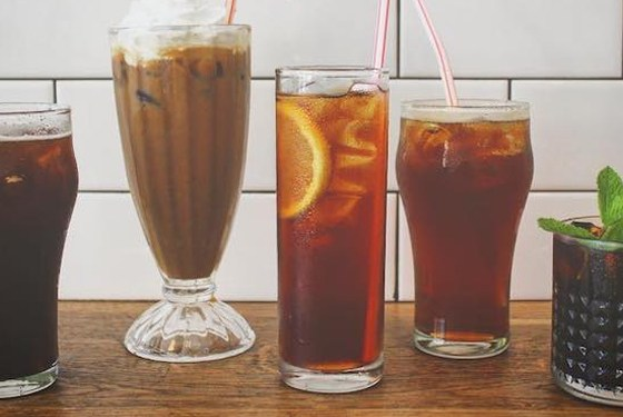 cold brews & iced coffees in toronto