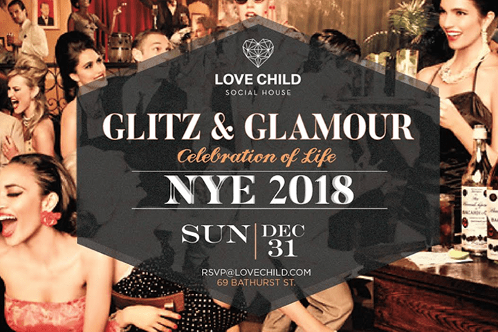 Photo of LOVE CHILD's Glitz and Glamour Special Event for New Years 2018.