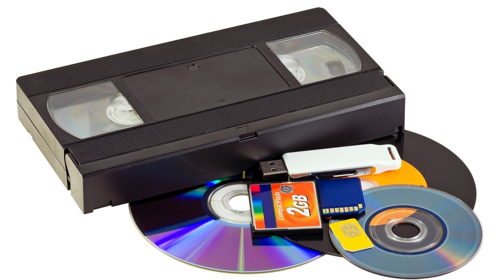 Collection of different video formats