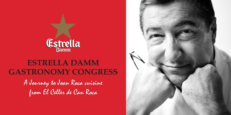 Estrella Damm for Gastronomy Congress: