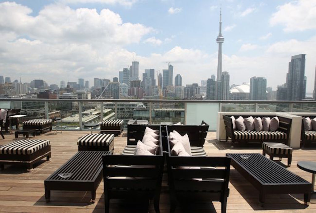 Toronto's Best Patio Guide The Thompson Hotel